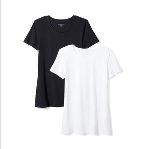 Tops - Women's 2-Pack ShortSleeve Crewneck Solid T-Shirt